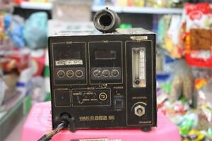 Used Hakko 852 Hot Air Rework Station Tested Tb