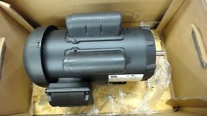 Weg 00336es1djp56c s 3 Hp Ac Motor 230 Volt 3490 Rpm 2p Single Phase 56c Fr