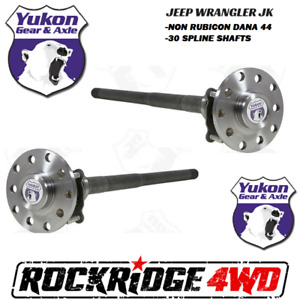 Jeep Wrangler Jk Jku 07 18 Dana 44 30 Spline Chromoly Rear Yukon Axle Kit