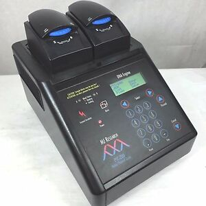Mj Research Ptc 200 Pcr Dna Engine Thermal Cycler W Dual 30 well Alpha Block