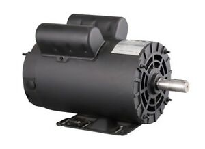 5hp Electric Motor 3450 Rpm Air Compressor 145t 7 8 Shaft 1 Phase 208 230v