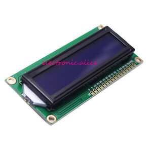 Lcd1602 Hd44780 Character Lcd Display Blue Blacklight Tft 16x2 Lcd Module 5v
