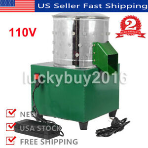 Chicken Plucker Dove Feather Plucking Machine Poultry Birds Depilator 110v