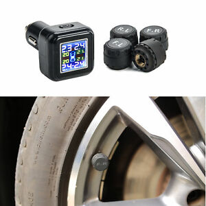Tire Pressure Monitoring System Pressure Gauge Lcd Monitor
