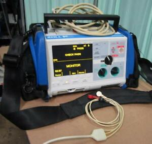 Zoll M Biphasic 3 Lead Ecg Pacing Aed Analyze Battery