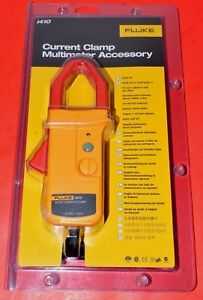 New Fluke Tools Current Clamp Multimeter Ac Dc 600 Volts 400 Amps Cat Iii I410