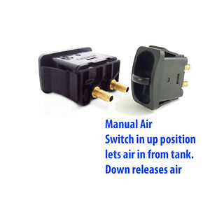 V 2 Manual Paddle Valve Switches Control Air Ride Suspension