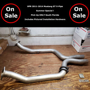 Upr 2011 2014 Mustang Gt 3 Aluminized Off Road X Pipe System