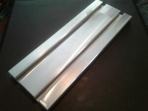 Sacrificial Aluminum T slot Plate T slotted Fixture Table 6 X 16 X 1