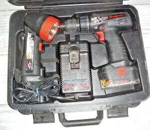 Snap On Drill Cdr3850 With Box Cordless Drill Driver Power Tool