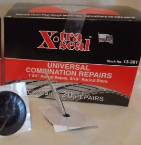 Xtra Seal Universal Combination Tire Plug Patch Repair 13 381