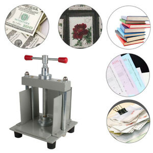 A4 Flat Paper Press Machine For Photo Books invoices checks booklets Nipping