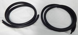 Mazda R100 1200 1300 323 Coupe Rear Side Quarter 1 4 Vent Window Rubber Pair