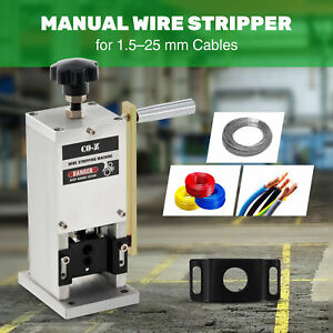 Wire Stripping Machine Portable Scrap Cable Stripper Manual