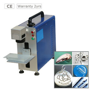 Portable Maxphotonic 10w Fiber Laser Marking Machine For Metal And Non metal
