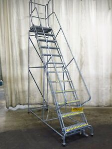 Cotterman Portable Stairs 12 Steps 450 Lbs 02180850092