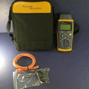 Fluke Networks Cableiq Qualification Tester Very Good See Details