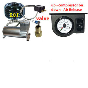 V Tow Assist Control In Cab Air Height Control Paddle Switch Gauge Dc100
