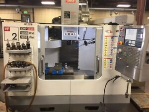 Used 2007 Haas Vf 2 Cnc Vertical Machining Center Mill Probe 10k Rpm Milling Ct