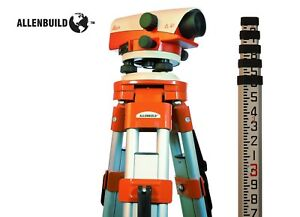 New Leica Na724 24x Auto Level tripod rod Package For Surveying Part 641983