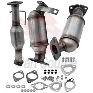 Catalytic Converter 3pc Set Fits 2009 2017 Buick Enclave 3 6l Brand New
