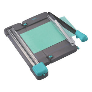 2 In 1 Guillotine 3 Blade Rotary Trimmer Kw trio 13080 Table Top Paper Cutter