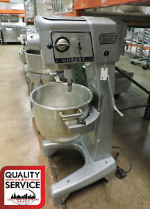Hobart D300 30 Quart Commercial Dough Mixer 1 Ph 115v W 30 Qt Bowl
