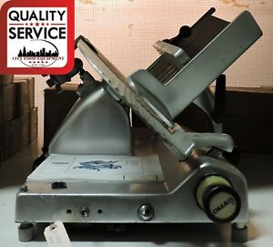 Omas C330 Manual Commercial Deli Meat Slicer