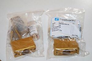 Positronic Connector M28748 4 f4cl1a With Pins Vmct 34 New Sealed f3 k
