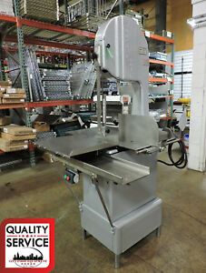 Butcher Boy B16 f Commercial Meat Band Saw 3 Ph 208v