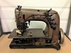 Union Special 51400 Two Needle W puller 1 4 Spacing Industrial Sewing Machine