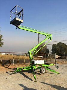 New 2018 Niftylift Tm34he Tow Behind Niftylift Boom Lift 40 Work Height