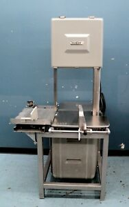 Hobart 5801 Meat Saw Meat Butcher Saw Vertical Meat Saw Refurbished
