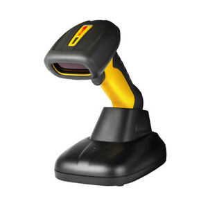 Nt 1203 Wireless 2d Qr Barcode Scanner 32bit Bar Code Usb Laser For Pos System