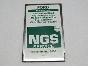 Ford Hickok Ngs Obd Ii Green Diagnostic Service Card Version 12 3