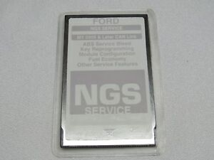 Ford Hickok Ngs Obd Ii Gray Service Card Can Link Ver 2 0