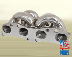 For 1989 Nissan Silvia 240sx 200sx Ca18 Det T3 Turbo Manifold Stainless Header