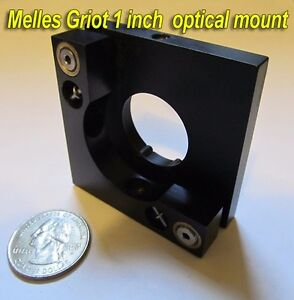 3 Melles Griot1 Inch Optical Laser Mirror Mount