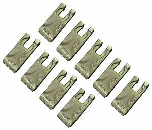 9 Carbide Auger Teeth 134519 40 50 Size Tooth For Pengo Aggressor Auger