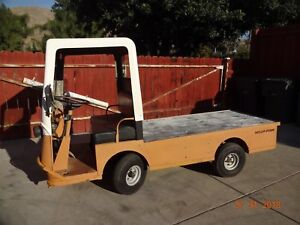 Taylor Dunn B2 48 Industrial Flatbed Electric Utility Cart New Batts Update