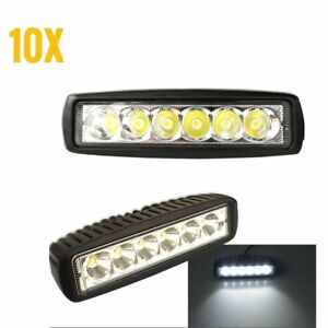 300w Led Light Bar Work Spot Driving Lights Flood Offroad Combo Lamp Auto Ip67