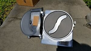 New Genuine Hobart Pelican Head Slicer 12 Hub Attachment With S Blade
