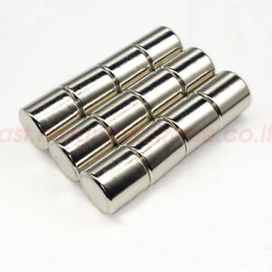 5 8 X 5 6 Cylinder Strong N50 Round Rare Earth Neodymium Magnets 15mm X 20mm
