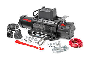 Rough Country 9500lb Pro Series Electric Winch Synthetic Rope