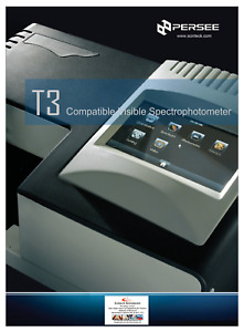 Persee T3 Portable Uv visible Spectrophotometer P n T3gp