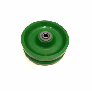 V groove Solid Polyurethane Wheel 6 X 2 With 1 2 Id Needle Roller Bearing