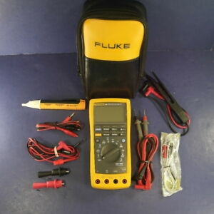 Fluke 189 Trms Multimeter Screen Protector Excellent Extras