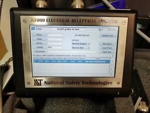 National Safety Technologies Bionix R7000 Electrical Receptacle Outlet Analyzer