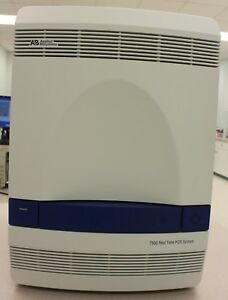 Abi Applied Biosystems 7500 Real time Pcr System With Computer Tower