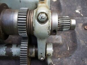 Vintage 9 South Bend Lathe 9 Inch Metal Lathe Head Stock